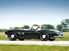 The Vintage BMW 507 Roadster History   The BMW 507 2 doors roadster is a very special and extremely unique sports car, it was produced by BMW from ... http://www.ruelspot.com/bmw/the-vintage-bmw-507-roadster-history/  #BMW5072DoorsRoadster #BMW507EngineSound #BMW507ExhaustSound #BMW507HistoricalInformation #BMW507OwnerExperience #BMW507SportsCars #VintageBMW507RoadsterHistory
