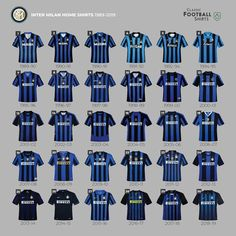 Inter Milan Home Shirts Soccer Kits, Football Kits, Football Jerseys, Classic Football Shirts, World Football, Team Uniforms, Short Curly Styles, Soccer Cleats, Men Fashion