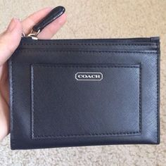Authentic Coach Leather Wallet/Key Chain