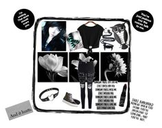 """Scene Set"" by jinxstitched ❤ liked on Polyvore featuring Glamorous, Love Quotes Scarves and Gaia"