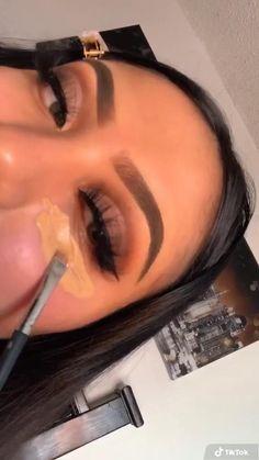 Glam Makeup, Soft Eye Makeup, Dope Makeup, Baddie Makeup, Eye Makeup Art, Colorful Eye Makeup, Blue Eye Makeup, Pretty Makeup, Skin Makeup