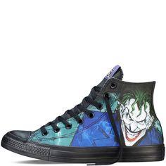 Chuck Taylor DC Comics Joker Black
