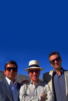 """Joe Pesci, Matin Scorsese and Robert DeNiro on the set of """"Casino"""" I fell so in love with Casino when I was 19. I would clear my weekend and watch it over and over until I could recite every line.  Perfect movie.  Perfect acting.  Incredible story."""