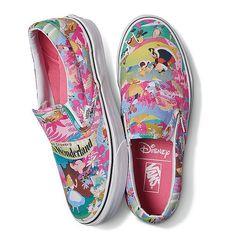 NEW Disney Alice in Wonderland Vans! Link in bio Disney Vans, Disney Shoes, Disney Outfits, Sock Shoes, Vans Shoes, Cute Shoes, Me Too Shoes, Alice In Wonderland Shoes, How To Wear Vans