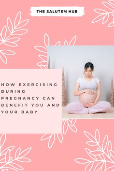 The benefits of exercising during pregnancy can prove to be immeasurable for you and your baby's health. #pregnancy #pregnancyexercise #healthybaby #healthypregnancy Exercise During Pregnancy, Pregnancy Workout, Stay Fit, Benefit, Canning, Health, Baby, Exercise While Pregnant, Keep Fit