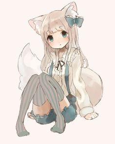 Invader Zim x reader oneshots - invader Zim X neko reader Anime Neko, Lolis Neko, Chica Anime Manga, Manga Girl, Anime Wolf Girl, Anime Art Girl, Anime Girls, Kawaii Neko Girl, Cute Neko Girl