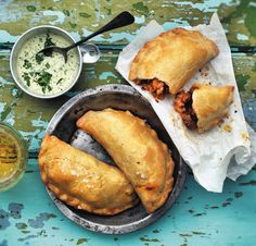 Pikantní kuřecí empanadas , Foto: Moje pouliční kuchyně