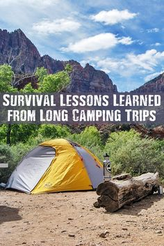 Survival Lessons Learned from Long Camping Trips - Camping is a great way to learn, practice, and teach survival skills without it being 'weird' or 'extreme'. Under the guise of camping, you can ask all sorts of questions that wouldn't be out of the ordinary, too!