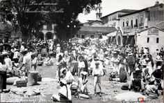 Fotos de Huauchinango, Puebla, México: DIA DE MERCADO hacia 1945
