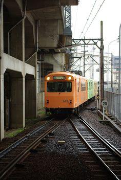 japanese narrow gauge train
