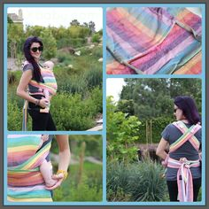 Girasol Mysol in Surprise Rainbow is HERE and oh so beautiful!! http://shop.paxbaby.com/girasol-mysol/