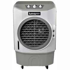 Luma Comfort 1650 CFM Commercial Evaporative Cooler Air Fan (Swamp Cooler) for 650 sq. Indoor and Outdoor - White, Off White and Gray Cool Air Fans, Fireplace Screens With Doors, Gazebo Tent, Evaporative Cooler, Window Air Conditioner, Electronic Recycling, Recycling Programs, Water Supply, Commercial