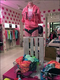 Dress form too short to attract attention? Toss a Slatted Wood Crate underneath for a new Do-It-Yourself look and take the merchandising high ground. I might not have paired this particular slatted… Viria, High Ground, Victoria Secret Outfits, Retail Merchandising, Wood Crates, Stand Tall, Dress Form, Victoria's Secret Pink, Underwear