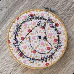 Moomin Embroidery Hoop