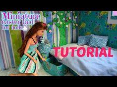 Tutoriel: comment faire une couverture et des oreillers pour des poupées - YouTube