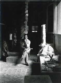 Carlo Zauli portrait, photo from the Zauli archive exclusive for Flair Florence  http://flair.it/it/