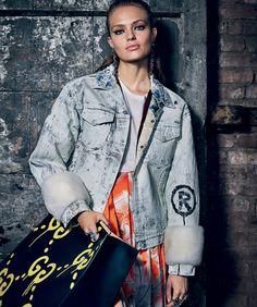 Anna Mila | Harper's Bazaar Espanha Outubro 2016 | Editoriais - Revistas de Moda