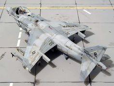 AV-8B Harrier by Piero De Santis (Monogram 1/48)