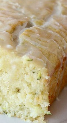 Glazed Lemon Zucchini Bread - the perfect treat for the cold weather. Extremely tasty, light and airy Glazed Lemon Zucchini Bread. It has a delicious flavor and Glazed Lemon Zucchini Bread Recipe, Zucchini Bread Recipes, Lemon Zucchini Loaf, Zucchini Pineapple Bread, Carrot Zucchini Bread, Zucchini Bars, Zuchinni Desserts, Apple Zucchini Muffins, Shredded Zucchini Recipes