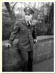 One Day In Bad Nauheim – March 1959 | Elvis - Echoes Of The Past | LOCATION NUMBER # 4, - pic # 2.  Elvis on the first of two bridges he posed on that day.