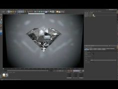 Creating Diamond in Cinema 4D tutorial - YouTube