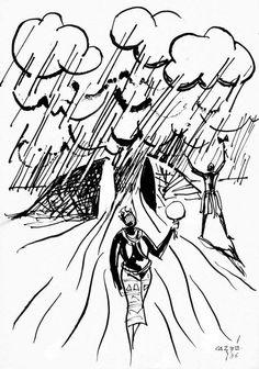 """Odô Iyá Yemanjá Ataramagbá, ajejê lodô, ajejê nilê!  """"Mãe das Águas, Iemanjá, que estendeu-se ao longe na amplidão. Paz nas águas! Paz na casa!""""  Iemanjá Lendas Africanas dos Orixás Pierre Fatumbi Verger & Carybé"""