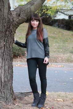 Leather Accents, Coated Jeans, Prada Boots, Suede, Neiman Marcus