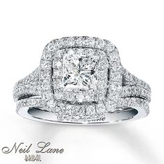 dream ring, hint to future joe!! haha!! Neil Lane Bridal Set 2 1/4 ct tw Diamonds 14K White Gold
