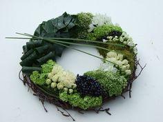 Fresh Green and White Life's Eternal Wreath