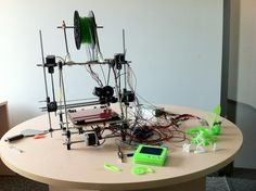 3-D printing of Yoda  Engineering Fun at Solekai