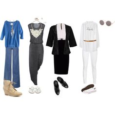 abbey road polyvore. oh the things i can accomplish when i should be doing something else...