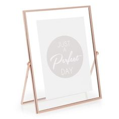 TIMO COPPER metal photo frame 13x18 cm