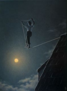 Quint Buchholz-walk your own line, make your own path, to carry your own weight.