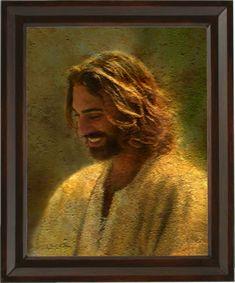 images lds jesus christ | LDS Artwork | Jesus Christ Frame Image