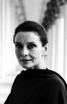 Tireless UNICEF Goodwill Ambassador Audrey Hepburn photographed by John Cogi after her trip to Ethiopia in 1988.