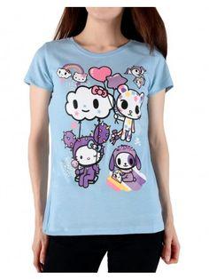 05d283a4d tokidoki x Hello Kitty - Super Kitty Women's Tee, Storm | Products | Hello  kitty, Kitty, Women