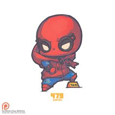Chibi homemade suit spidey by jrpencil_art heroes chibi marvel, chibi, spid Chibi Marvel, Marvel Art, Marvel Dc Comics, Marvel Heroes, Anime Chibi, Kawaii Chibi, Chibi Characters, Cute Characters, Spiderman Cute