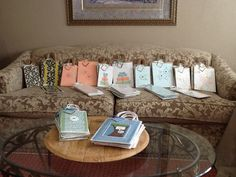 I made all these gift bags in 2 Days.