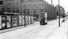 Old Photograph Dens Road, Dundee, Scotland