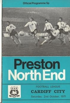 Preston North End Football Programmes from Browse-a-While Antiques & Collectables suppliers of Vintage Sports Memorabilia Cigarette Cards Antiques & Collectables Vintage Postcards Vintage Fine Art Fine China Vintage Military Items Vintage Jewellery Vint Community Shield, Soccer Art, Preston North End, Cardiff City, Vintage Postcards, Vintage Ephemera, International Football, Football Program, Europa League