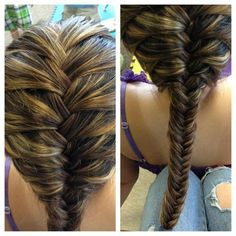 French fish tail