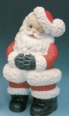 Ready To Paint Ceramic Bisque Large Jolly Santa Ready To Paint Bisque Large Jolly Santa [HX108] - $17.99 : The Statue Warehouse, Ceramic Bisque and Vintage Mold Warehouse