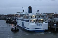 Ms Friesland II #veerdienst #Waddenzee #doeksen @RederijDoeksen #Terschelling #Harlingen (credits foto: Willem Berg)