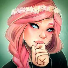 Laura Brouwers @cyarine Pink hair is neve...Instagram photo | Websta (Webstagram)