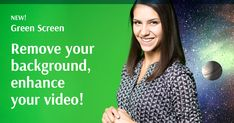 Amazing Backgrounds, Screen Recorder, Creative Background, Holiday Sales, You Videos, Watch, Create, Green, Clock