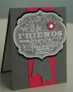 Stampin' Up!, Friends Who Know,  www.carolpayne.stampinup.net
