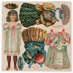 75.2201: Celie   paper doll   Paper Dolls   Dolls   National Museum of Play Online Collections   The Strong