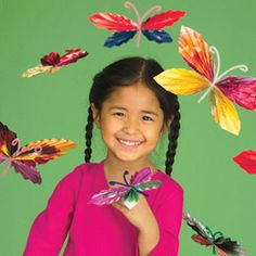 spring butterfly craft