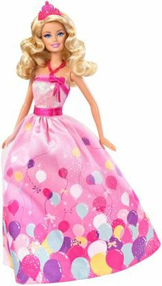Barbie Birthday Princess Doll Gift Set. Perfect gift for a little girls Barbie party