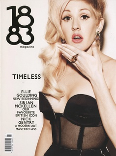 Mawi London - Ellie Goulding - 1883 Magazine Cover - December 2012